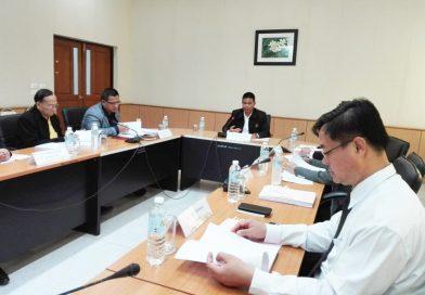 ประชุมคณะกรรมการประจำบัณฑิตวิทยาลัย มหาวิทยาลัยนครพนม ครั้งที่ 3/2562