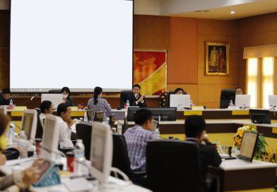 ม.นครพนม ประชุมหารือเตรียมความพร้อมการจัดการเรียนการสอนภาคการศึกษา 1/2563